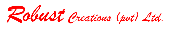 logo for robust creations branded logos